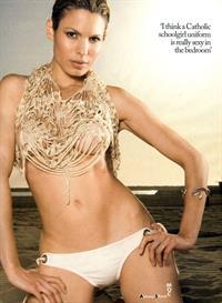 Nadine Velazquez in lingerie