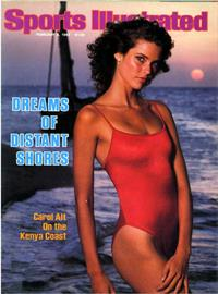February 8, 1982.  Sports Illustrated Swimsuit Cover