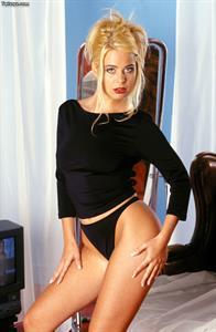 Kelly Norton in a bikini