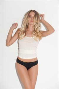 Julia Rohden in lingerie