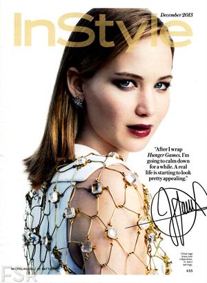 Jennifer Lawrence Michelangelo Di Battista Photoshoot for Instyle US December 2013 - 10