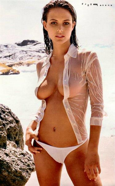 Josie Maran in a bikini - breasts