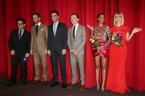 Zoe Saldana Star Trek Into Darkness' Premiere on April 29, 2013