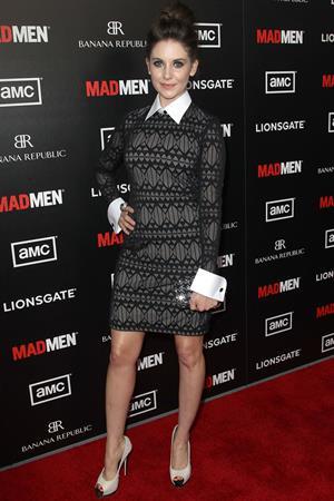 Alison Brie premiere of AMC's Mad Men Season 5 on March 14, 2012