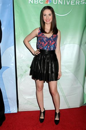 Alison Brie NBC Universal Press Tour All Star Party on January 13, 2011