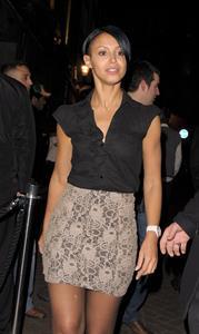 Amelle Berrabah London candids Feb 6th 2010