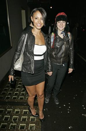 Amelle Berrabah at Whisky Mist Club on January 24, 2010