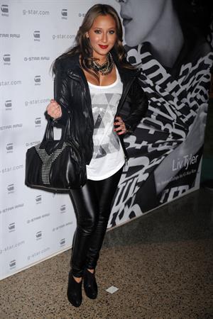 Adrienne Bailon at G Star Raw Fall/Winter 2010 fashion show in New York City February 16, 2010