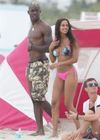 Fanny Neguesha in a bikini