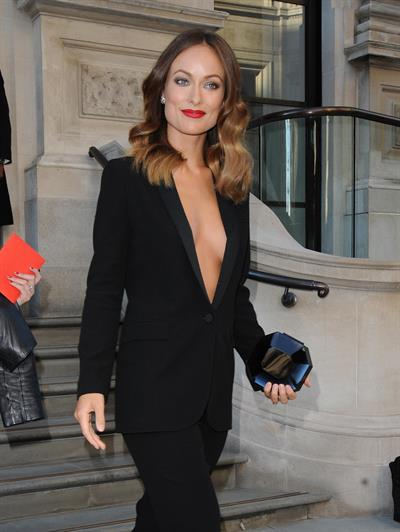 Olivia Wilde (24) Leaving her hotel in London - September 2 2013