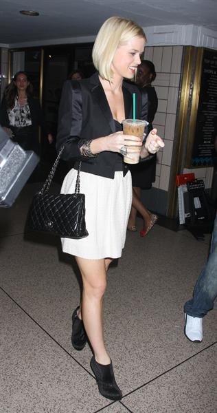 Alice Eve at MTV studios in New York on April 16, 2012