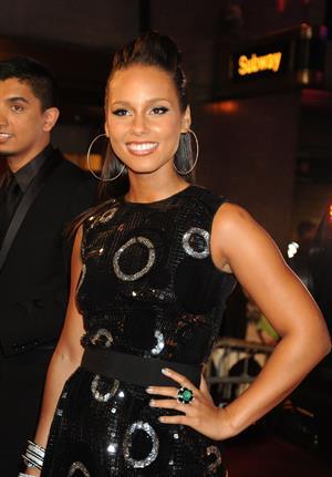 Alicia Keys MTV Video Music Awards at Radio City Music Hall in New York City
