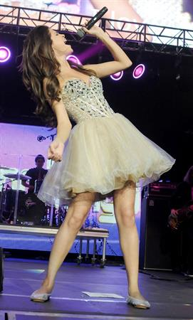 Selena Gomez KIIS FM's Wango Tango on May 14, 2011