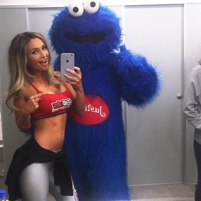 Rosanna Arkle taking a selfie