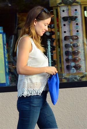 Olivia Wilde in Los Angeles on March 11, 2013