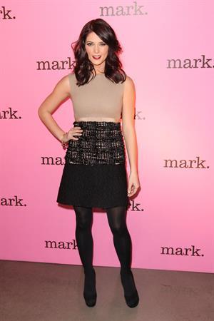 Ashley Greene Inside the Mark Studio at the Glass Houses in New York City on November 11, 2011