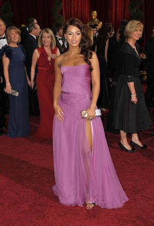 Alicia Keys 81st Annual Academy Awards arrivals in Hollywood