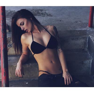 Kylie Rae in a bikini