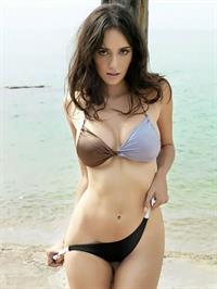 Sara Malakul Lane in a bikini