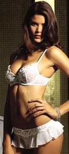 Jenna Pietersen in lingerie
