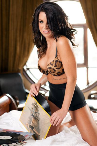 Alanna Ballantine in Playboy photoshoot