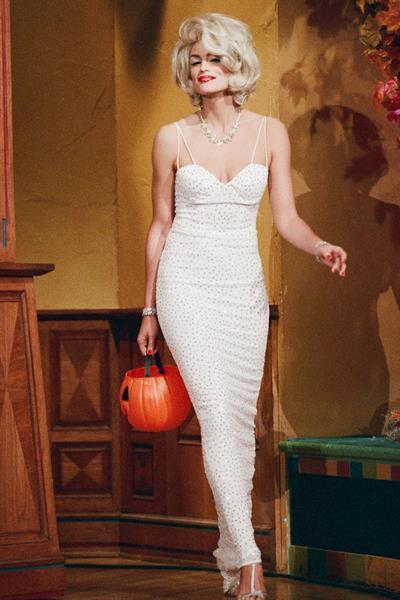 Cindy Crawford as Marilyn Monroe for Halloween