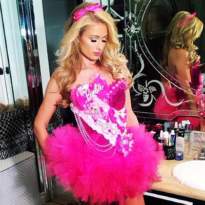 Paris Hilton as Barbie