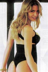Luly Drozdek in a bikini - ass