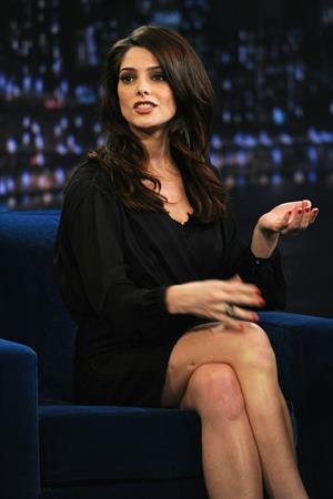 Ashley Greene Late Night with Jimmy Fallon in NY on November 15, 2011