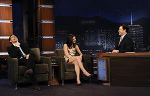 Ashley Greene Jimmy Kimmel Live Show