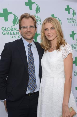 Angela Lindvall 16th annual Global Green USA Millennium Awards on Jun 2, 2012