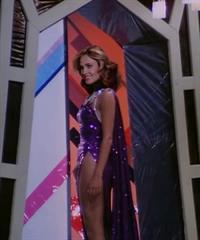 Erin Gray in a bikini