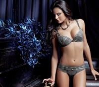 Isabel Canete in lingerie