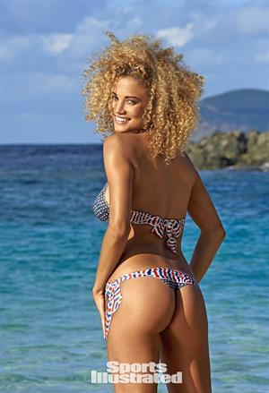 Rose Bertram Sports Illustrated 2015 - Body Paint