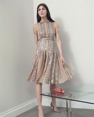 Hilary Rhoda Has a New York State of Mind for Bergdorf Goodman Spring 2013