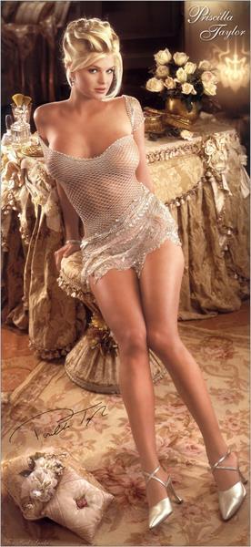 Priscilla Taylor in lingerie