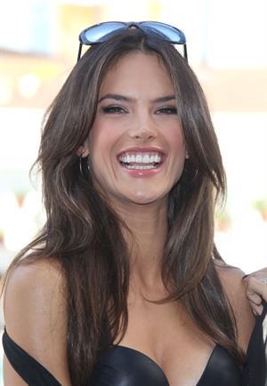 Alessandra Ambrosio for Victoria's Secret Swim collection 2011 launch on March 30, 2011