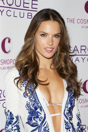 Alessandra Ambrosio Marquee Nightclub and Dayclub Grand Opening in Las Vegas on April 9, 2011