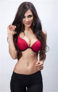 Dayana Stefanova in lingerie