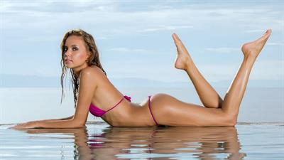 Katya Clover in a bikini