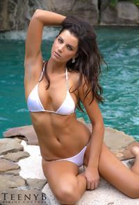 Emily Kugler in a bikini