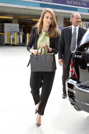 Jessica Alba in Los Angeles on April 26, 2012