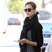 Jessica Alba in Los Angeles on January 28
