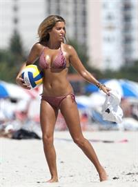Sylvie van der Vaart in a bikini