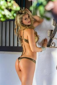 Ana Maria Córdoba in lingerie - ass