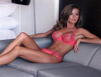 Holly Weber in lingerie