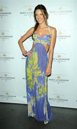 Alessandra Ambrosio Follow the Sun Event on June 24, 2010