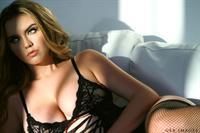 Lauren Hanley in lingerie