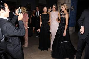 Alessandra Ambrosio attends the Metropolitan Museum of Arts 2010 costume institute ball on May 2, 2010 in New York City