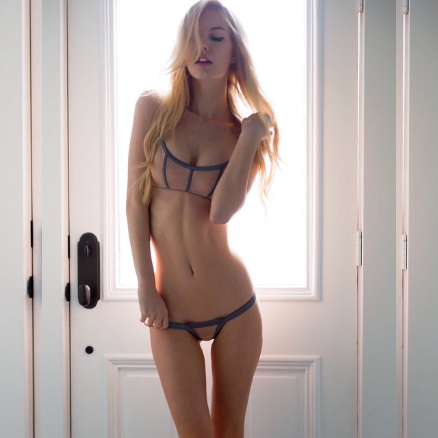 Katelyn Byrd in lingerie